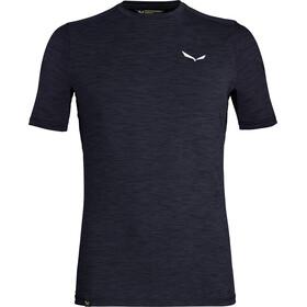 Salewa Pedroc Hybrid 2 Dry t-shirt Heren blauw